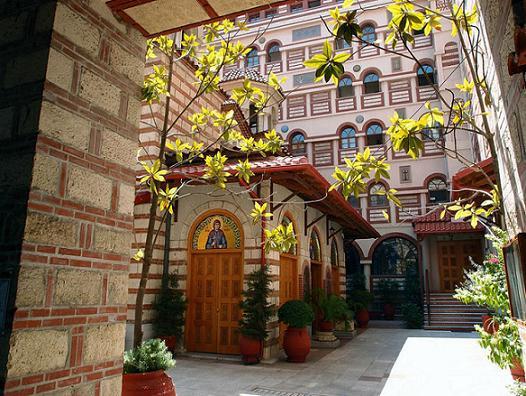 Мужской монастырь преподобной Феодоры Солунской, Салоники, Греция