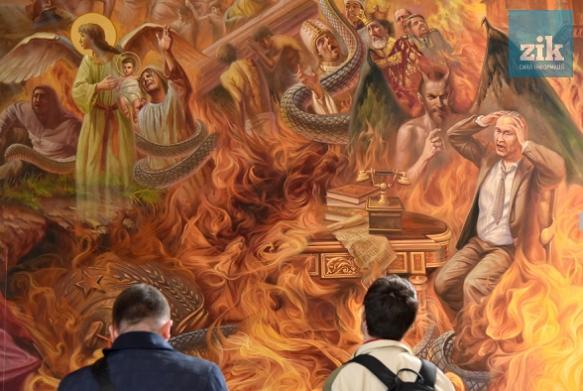 Раскольники филаретовцы уже совершили за Бога суд над Путиным и, видно, над всей Россией