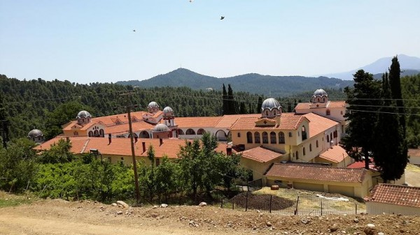 монастырь прп. Давида Эвбейского, Греция