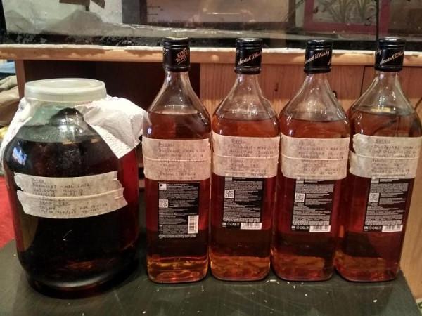сливаем виски 1