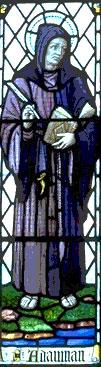 Преподобный Адомнан (Адамнан), игумен Ионский