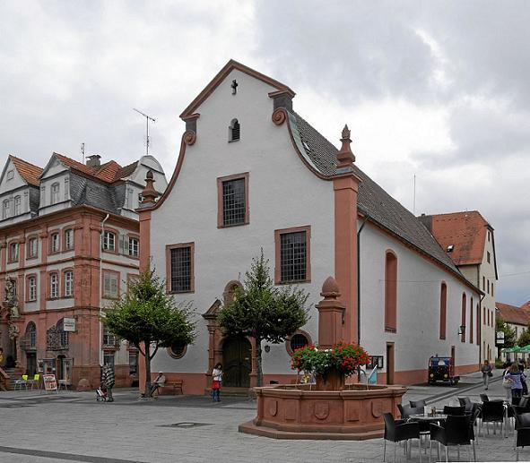 храм св. Лиобы в Таубербискофсгейме, Германия