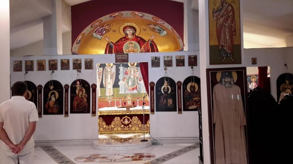 трикорфо фануария в храме 1