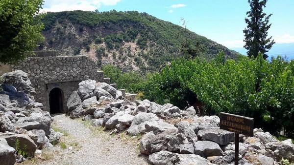 трикорфо фануария вход в катакомбы