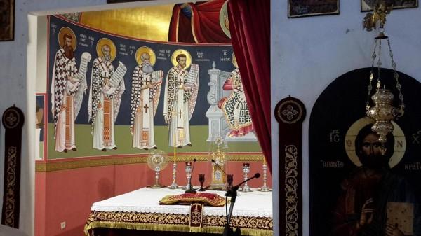 трикорфо фануария храм иконы в алтаре 1