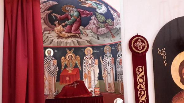 трикорфо фануария храм иконы в алтаре 2