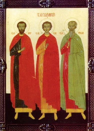 Мчч. Иоанн, Петр и Стефан Казанские