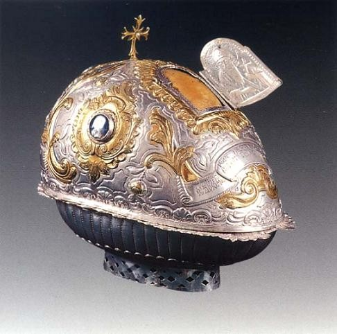 The Holy Skull of St. Evdokimos the Righteous of Vatopedi