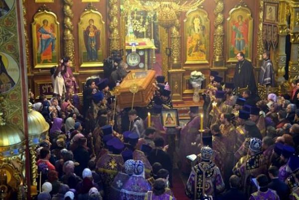 Обретение мощей священномученика Никодима архиепископа Белгородского