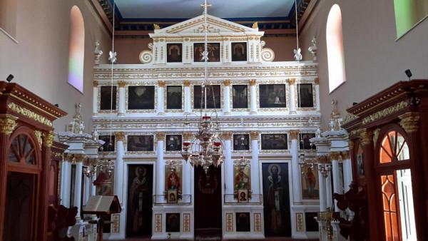 корфу дмитрия солунского иконостас храм