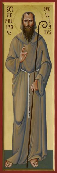Преподобный Эмилиан Кукуллат, пустынник