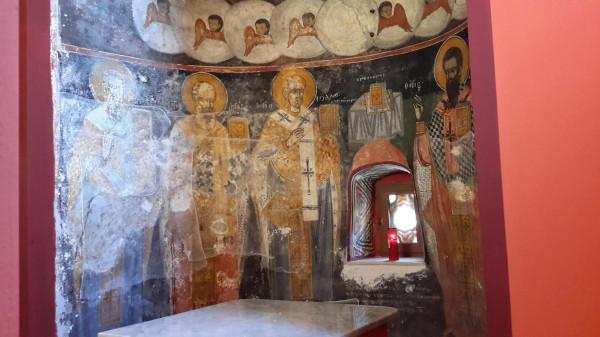 корфу Влахернской иконы в алтаре 1