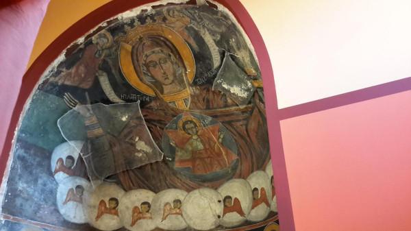корфу Влахернской иконы в алтаре 3