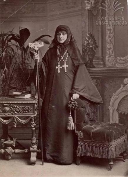 Преподобная Нина (Амилахвари), игумения