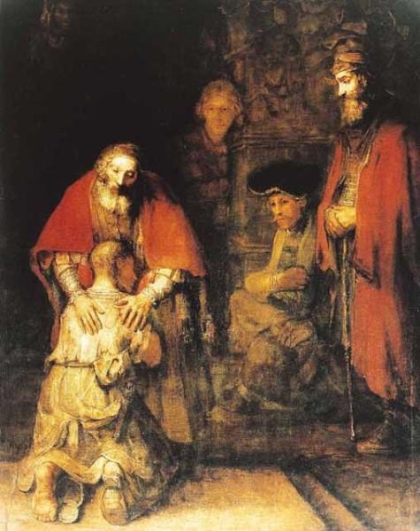 Притча о блудном сыне, Рембранд