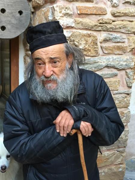 Игумен афонского монастыря Дохиар архимандрит Григорий