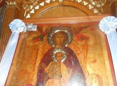икона Богородицы Панагия Корониотисса (Слезоточивая)
