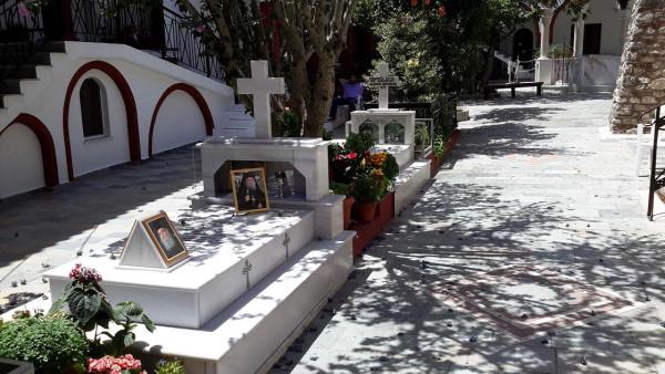 монастырь Давида могилы