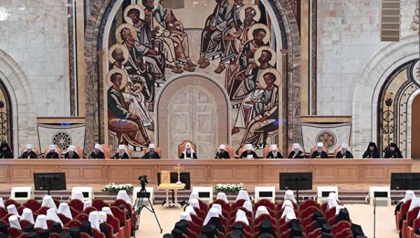 архиерейский собор 2018