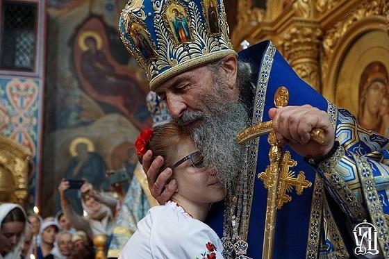 Блаженнейший митрополит Киевский и всея Украины Онуфрий