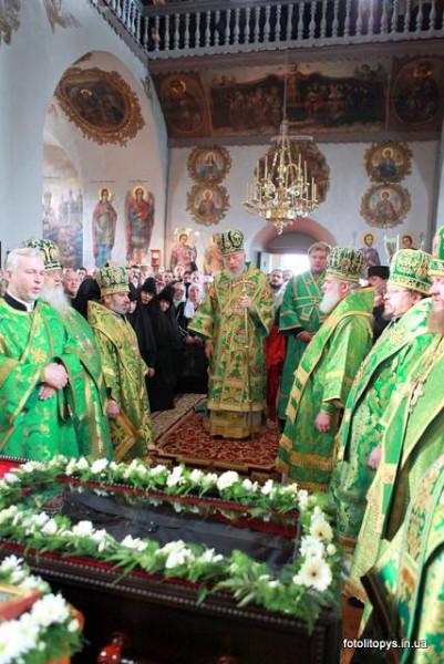 6 октября 2009 года состоялось прославление в лике местночтимых святых инокини Елены (Бахтеевой; † 1834)