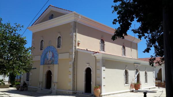 Пантократор Камарела храм