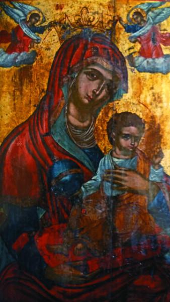 Икона «Царица Ангелов» — главная святыня монастыря Пантократор Камарела