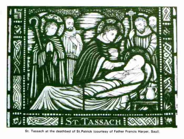 святой Тассах у одра умирающего свт. Патрика