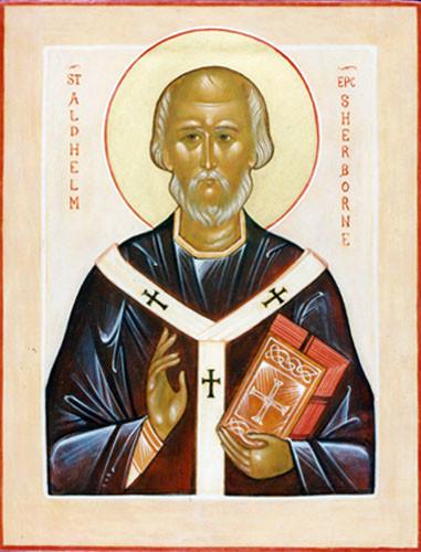 Святитель Альдхельм из Малмсбери