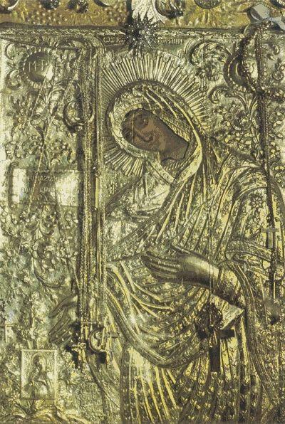 икона Божией Матери Неамонитисса (Неамонийская, греч. Νεαμονήτισσα)