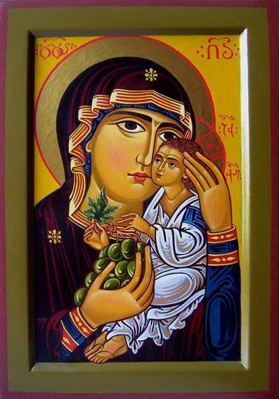 Иконы Божией Матери Ты еси Лоза (ПЦА [16])
