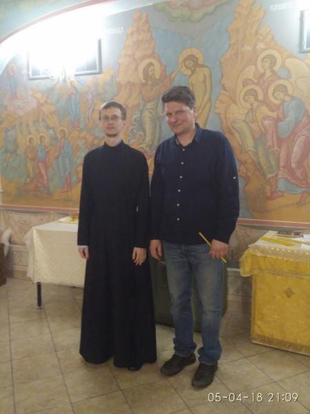 с диаконом Дмитрием Ноздриным