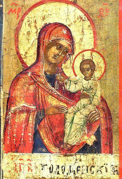 Икона Божьей Матери Коломенская