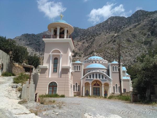 монастырь свт. Николая Чудтворца, Крит