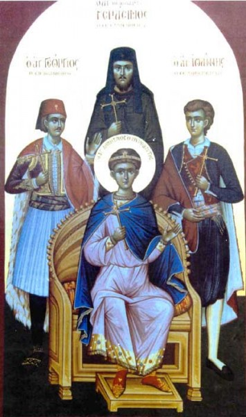 Sts. Demetrius, the Greatmartyr  26th October; George of Ioannina 17 January;