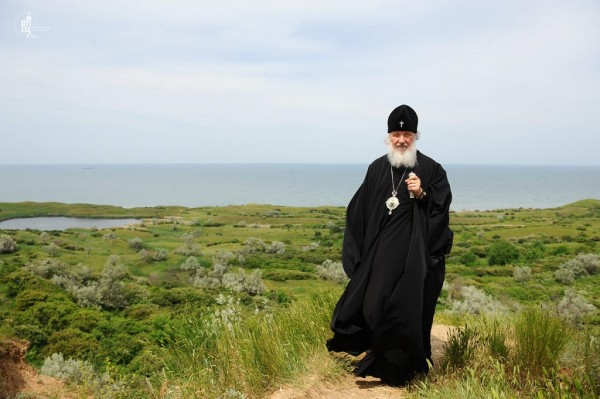 Святейший Патриарх Кирилл на Тамани, 2 июня 2011 года
