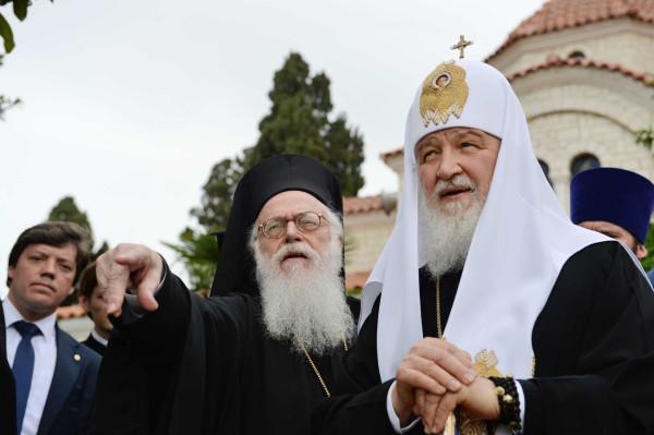 Патриарх Кирилл в Албании 2018 год