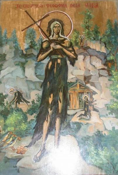 Преподобная Феодора (Богдана) Сихлинская (Сихловская), Карпатская