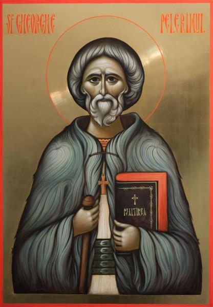 Праведный Георгий Лазар, Паломник