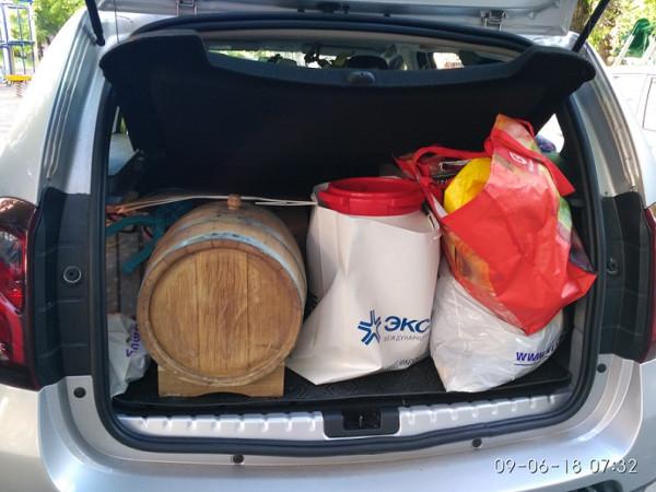 багажник муншайнера