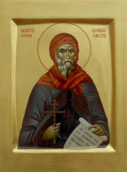 Преподобный Дионисий Малый (лат. Dionysius Exiguus), монах