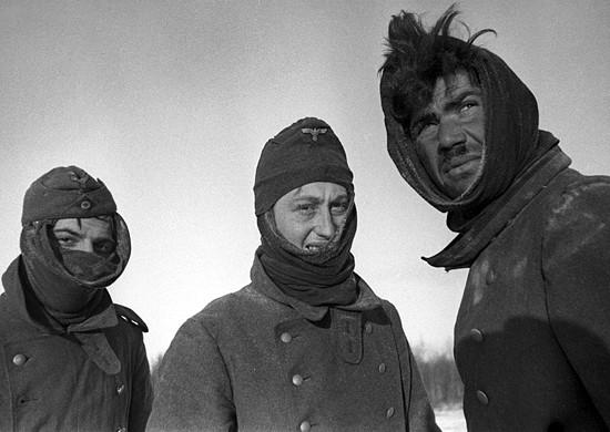 немцы под Москвой