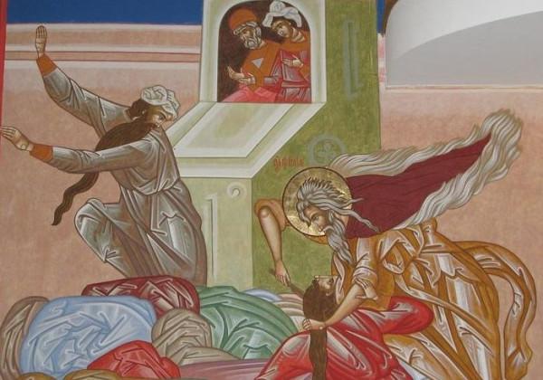 Илия убивает жрецов Ваала 2