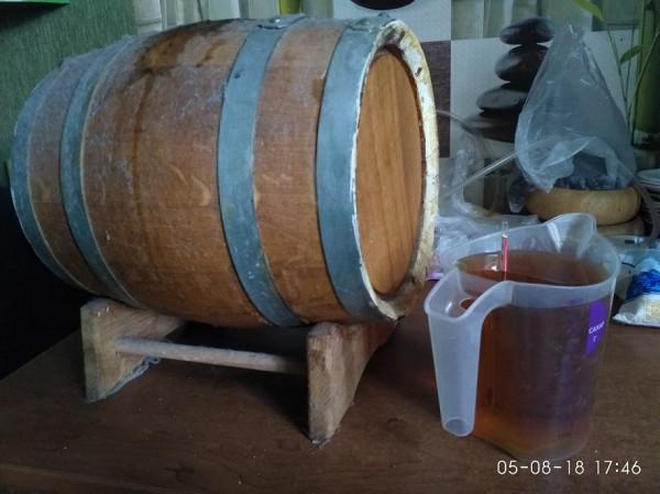 бочка виски 6 мес
