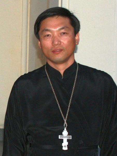 Феодор Ким Хве Ир, настоятель Троицкого ставропигиального храма Русской Православной Церкви города Пхеньяна