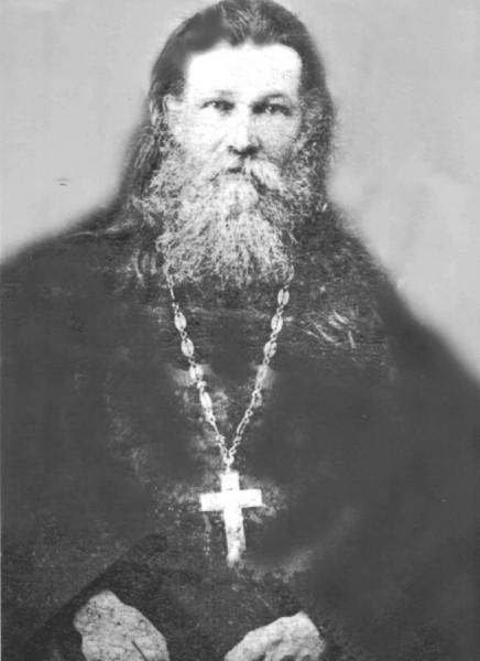 Протоиерей Николай Чернышев, 1907 г. Фото из Архива Комиссии по канонизации