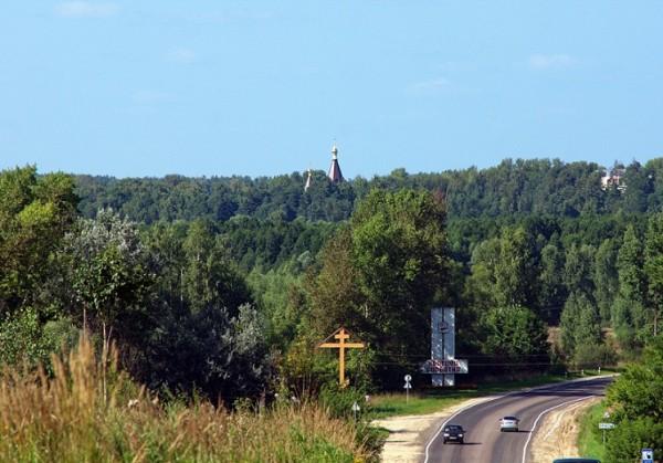 Въезд-в-поселок-Красная-Горбатка