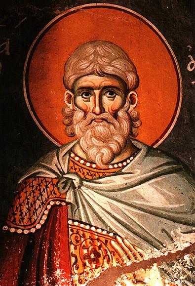 Мученик Авксентий Константинопольский