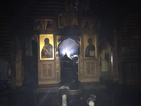 храм в Тушино сгорел