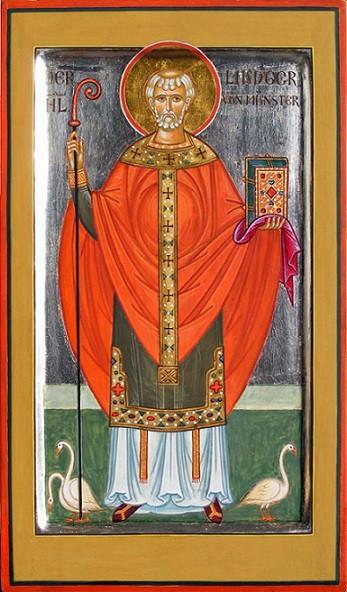 Святитель Лудгер Нидерландский (лат. Ludger, Liutger), епископ Мимигардефордский (Мюнстерский)